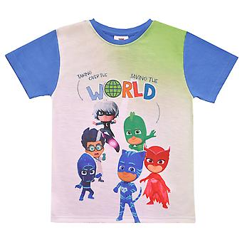 Pj masks boys t-shirt short sleeve