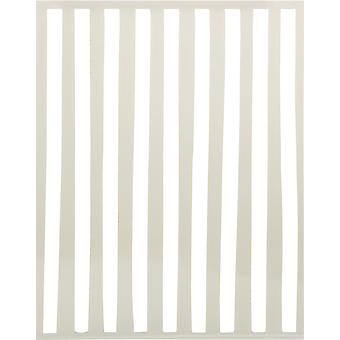 "Ranger Letter It Background Stencil 4.75""X6"" - Organic Stripes"