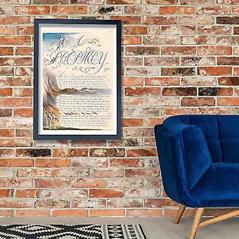 William Blake - América uma profecia placa 5 Poster impressão giclée
