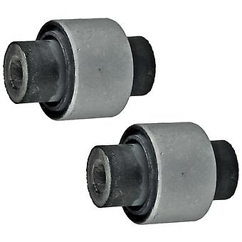 For Peugoet 406 Rear Axle Outer Wishbone Control Arm Bushes Left & Right 364041
