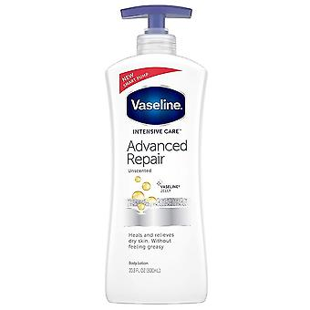 Vaseline intensive care advanced repair lotion, unscented, 20.3 oz