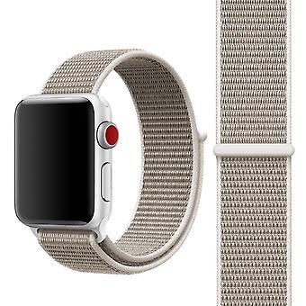 Für Apple Watch 38mm Nylon Loop mit Klettverschluss