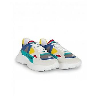 Love Moschino Footwear Chunky Colour Block Logo Trainers