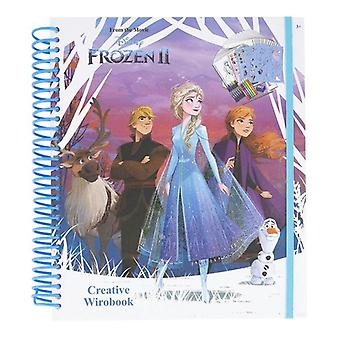 Frozen 2, Drawing Block with Painting Pictures
