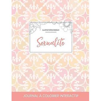 Journal de coloration adulte Sexualit Illustrations danimaux lgance pastel by Wegner & Courtney