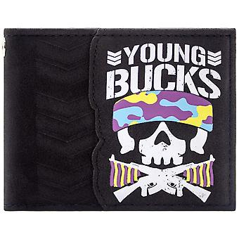 Bullet Club Young Bucks Bone Soldier ID & Card Bi-Fold Wallet