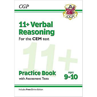 New 11+ CEM Verbal Reasoning Practice Book & Assessment Tests - A