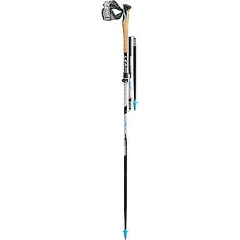 Leki MCT Vario TA Cross Trail Poles (Black/White/Cyan) (Pair)