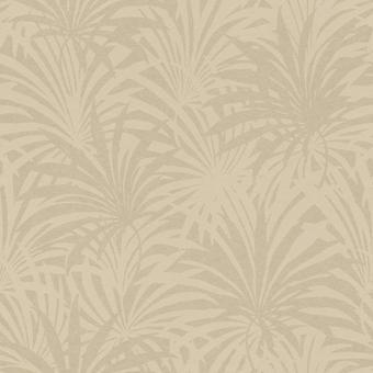 Eitelkeit Fair Palm Print Tapete Beige Rasch 525922