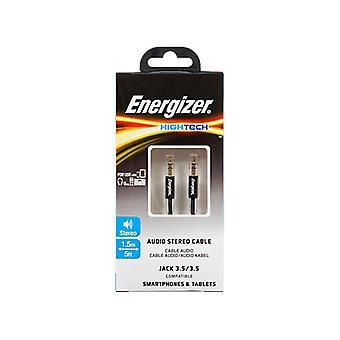 Conector de cable estéreo de audio Energizer