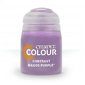 Contrast: Magos Purple (18ml), Citadel Paint Contrast, Warhammer 40,000