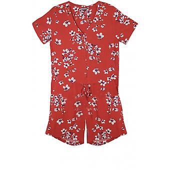 b.young Floral Print Playsuit