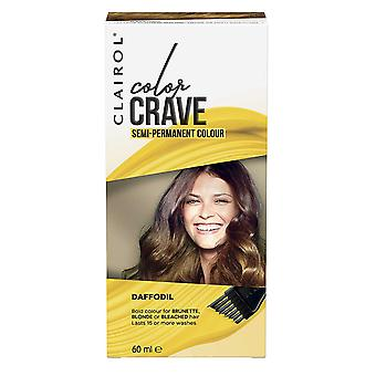 Clairol Color Crave Semi Permanent Hair Colour 15+ Washes 60ml Daffodil