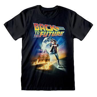 Terug naar de toekomst Film Poster Women's Boyfriend Fit T-Shirt