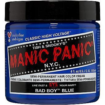 Manic Panic Semi Permanent Hair Color - Bad Boy Blue