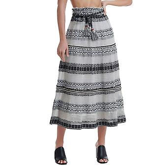 Funky Buddha Women's A Line Skirt In Ethnic Look