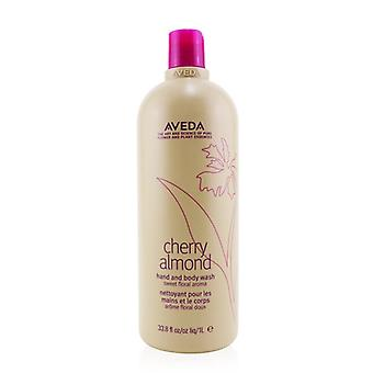 &Cherry Almond-hånd Body Wash - 1000ml/33.8oz