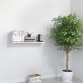 Aire menos rosa rosa Mending (blanco), plexiglás (parte de color) 67x15x16 cm