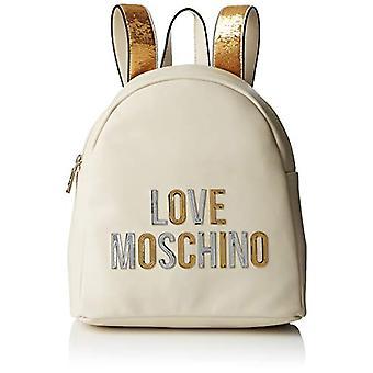 Love Moschino Pu Women's shoulder bag (Ivory) 12x23x28 cm (W x H x L)