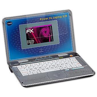 atFoliX Verre film protecteur compatible avec VTech Power XL Laptop E/R 9H Hybride-Verre