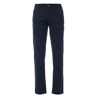 Men's Ben Sherman 5 Pocket Stretch Chino Trouser in Blue