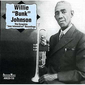 ウィリー「二段ベッド」ジョンソン - ジョンソン、ウィリー 'バンク': 'ジャズ情報' 録音 [CD] 米国インポートの完了