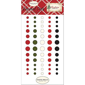 Carta Bella Christmas Enamel Dots