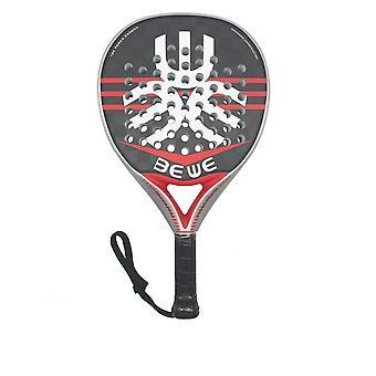 Diamond-shaped Paddle Racket - 18K Carbon Fiber