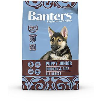Banters Puppy & Junior Chicken (Dogs , Dog Food , Dry Food)