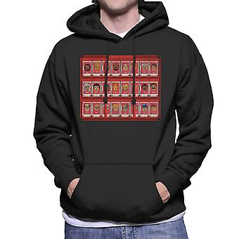 Hasbro Guess Who Red Board Men's Sweatshirt à capuchon
