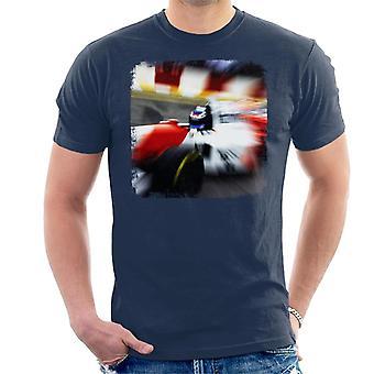 Motorsport kuvat Mika Häkkinen 1995 Brasilian Grand Prix miehet ' s T-paita