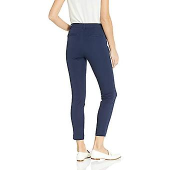 Essentials Women's Skinny Ankle Pant, Navy, 4 Long