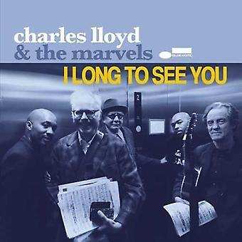 Charles Lloyd - I Long to See You... [Vinyl] USA import