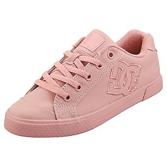 DC Shoes Chelsea Tx Womens Casual Trainers in Rose