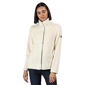 Regatta Womens Hermilla Full Zip Velour Fluffy Fleece Jacket