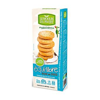 Coconut biscuits 4 units of 37.5g