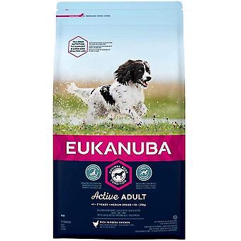 Eukanuba Active Adult Medium Breed - Kip - 2kg