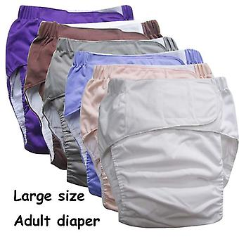 Reusable Adult Diaper For Old People And Disabled - Super Large Size  Adjustable Tpu Coat  Waterproof Incontinence Pants