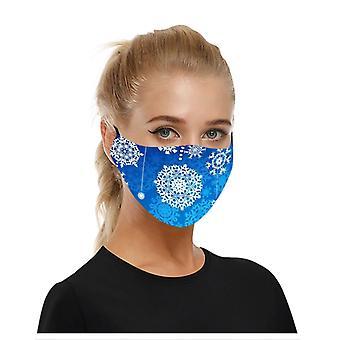 Atmungsaktive Gesichtsmaske Baumwollstoff pm 2,5 Staub Mund Abdeckung waschbare wiederverwendbare 2pcs