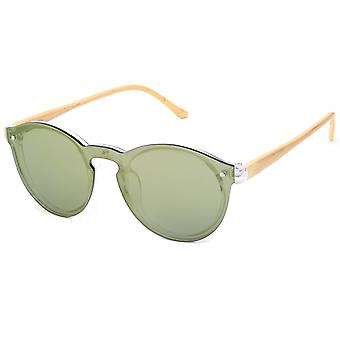 Sunglasses Unisex Cat.3 Green Lens (19-068)