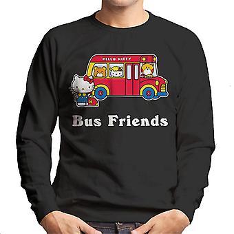 Hello Kitty Bus Venner Mænd's Sweatshirt