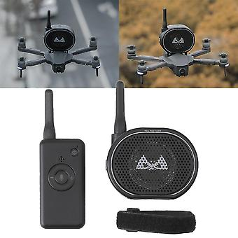Mini Portable  Usb Charging Remote Control Drone, Megaphone Wireless Speaker