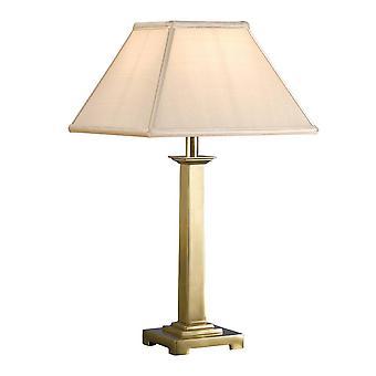 1 Lâmpada de Luz Latão Sólido - Somente Base, B22