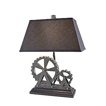 Elstead - 1 Lampe de table légère Midnight Pearl, E27