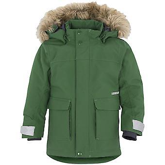 Didriksons Kure Kids Parka Jacket | Leaf Green