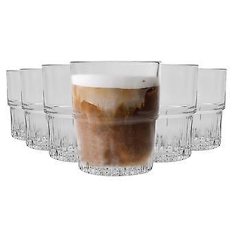 Duralex Empilable Stapelbare Drinkbare Glazen - 160ml Tuimelaars voor water, sap - verpakking van 6
