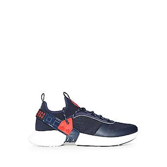 Bikkembergs - Shoes - Sneakers - GREGG_B4BKM0045_410 - Men - navy,red - EU 46
