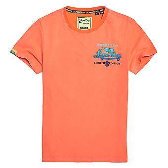 Superdry Limited Icarus Hyper Classics T-paita - Säteilevä Oranssi