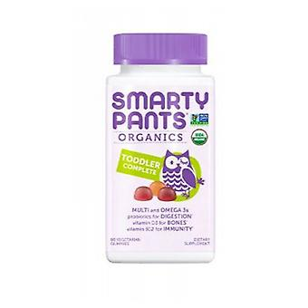 SmartyPants Complete Toddler Multivitamin, 60 Count