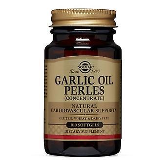Solgar Garlic Oil Perles, 100 S Gels